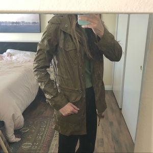 Light Hurley windbreaker jacket